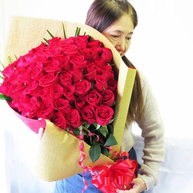 還暦祝い 母 プレゼント バラ 60本 花束 還暦祝い 女性 おしゃれ