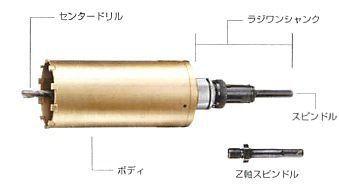 【ハウスビーエム】ハウスBM スーパーハードコアドリル AMBタイプ ボディ AMB-75