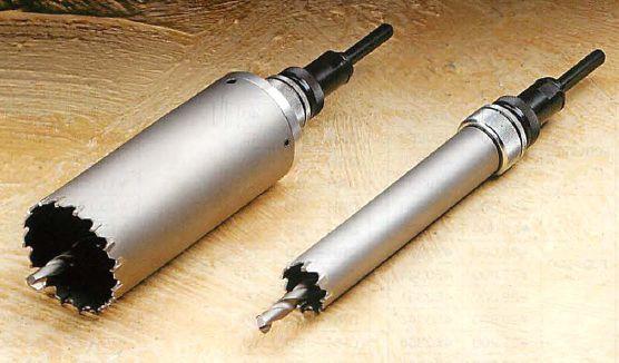【ハウスビーエム】ハウスBM 回転振動兼用コアドリル KCFタイプ フルセット KCF-180
