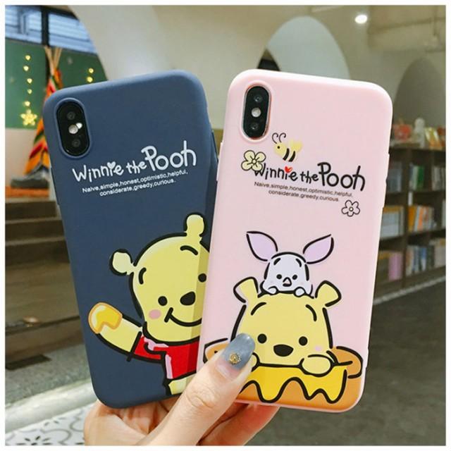 f81a149f9e 人気ケース iphone Xs MAX ケース アイホンケース クマのプーさん iPhone8 plusケーススマホ