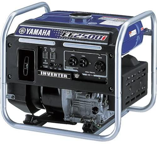 ヤマハ オープン型 インバータ発電機 EF2500i 2.5kVA [50Hz/60Hz] 25Aコンセント付 送料無料