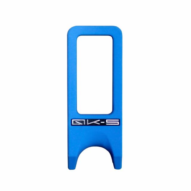 ビリヤード キュースタンド QK-S キュークロー 1本用 ブルー