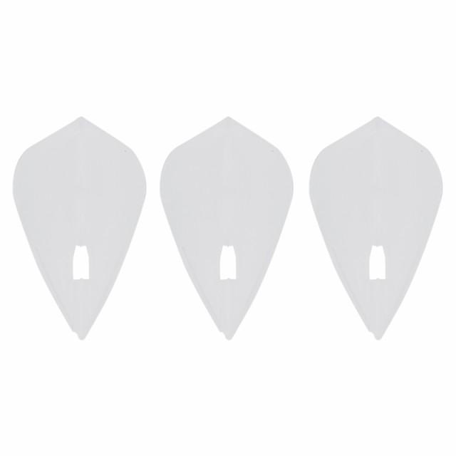 ダーツ フライト L-style フライトL クリアホワイト/KITE
