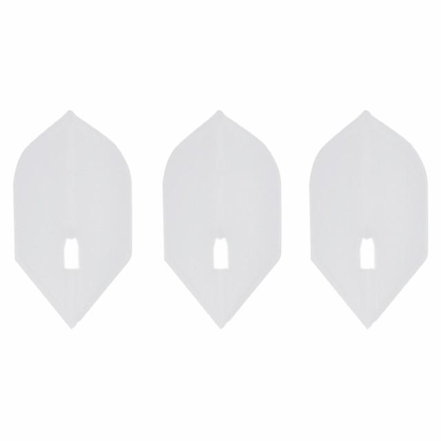 ダーツ フライト L-style フライトL クリアホワイト/ROCKET
