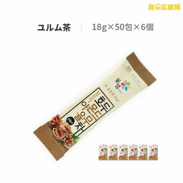 ユルム茶 18g×300包 1ケース ナッツ類ミックス「クルミ・アーモンド・はと麦」韓国茶 韓国伝統茶