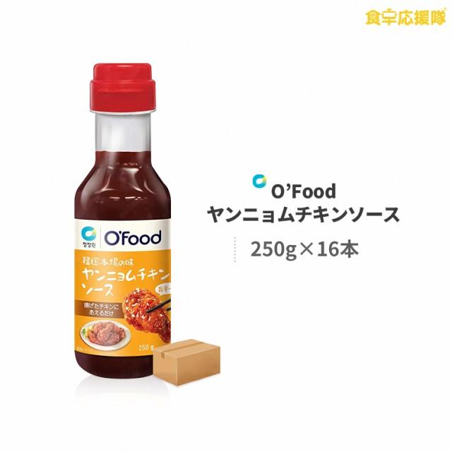 清浄園 ヤンニョムチキンソース 250g×16本 1ケース O'Food