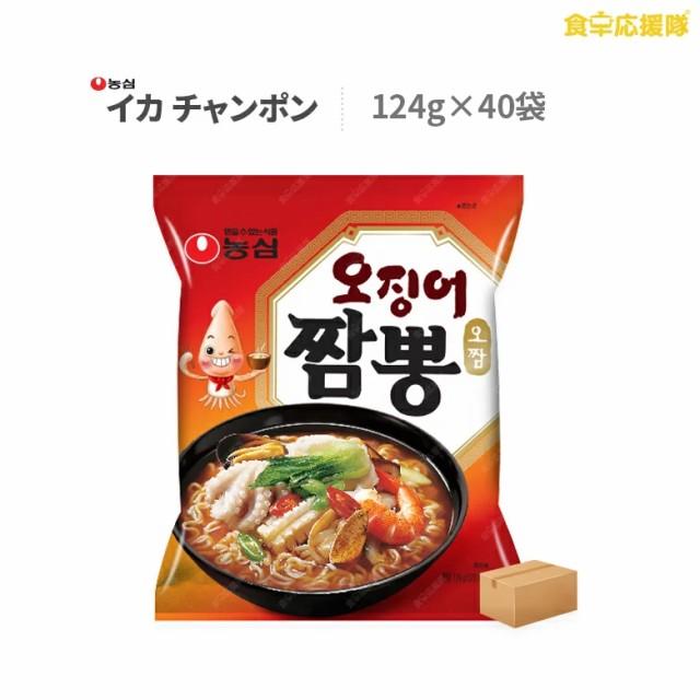 イカチャンポン麺 40個入り いかチャンポン チャンポン麺 農心