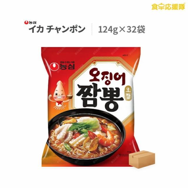 イカチャンポン 32個 1ケース ちゃんぽん ラーメン 農心 激辛 旨辛 韓国ラーメン 韓国食品