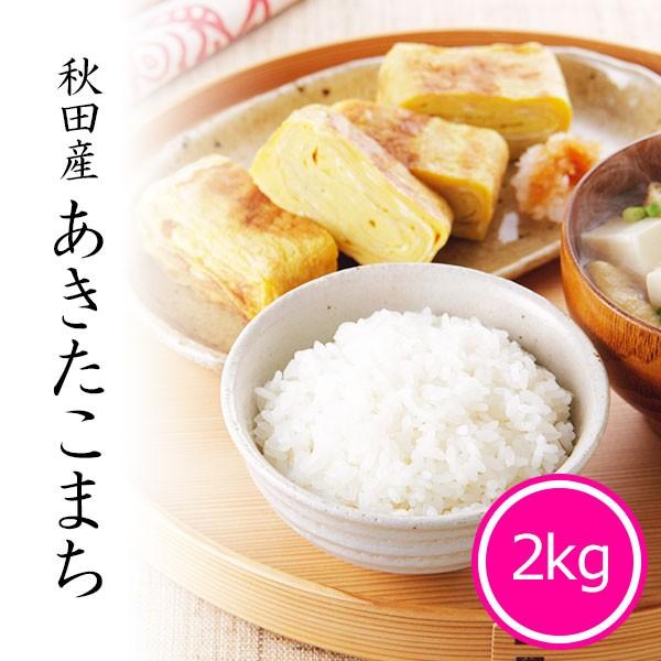 米 2kg あきたこまち 秋田県産 お米 令和2年産米 精米 白米