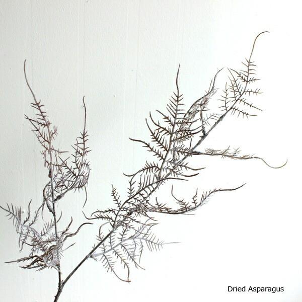 ドライアスパラガススプレー 造花 インテリア フェイクグリーン フェイクフラワー