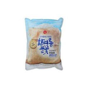 韓国食品/ 韓国調味料 /キムチ材料 / 韓国産塩 / 天日塩 3Kg