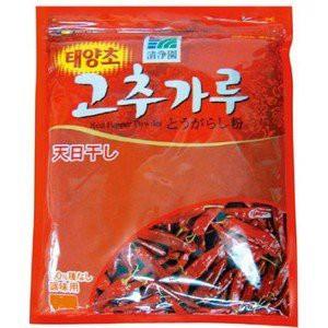 韓国食品 / キムチ材料 / 清浄園調味用とうがらし粉 500g