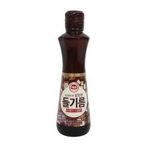 『ヘピョ』えごま油(320ml)|エゴマ油/荏胡麻100%/韓国食品・韓国食材