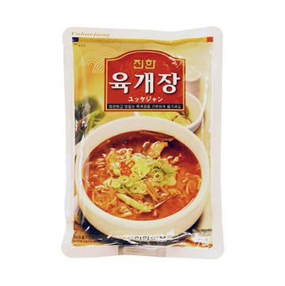 『眞漢』ユッケジャン(600g・辛さ2)[ジンハン][レトルトチゲ][韓国スープ]