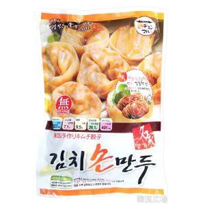 冷凍 名家 手作りキムチ餃子 420g