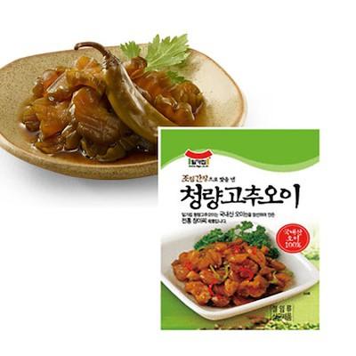 【イルガ】 青唐辛子オイジ (キュウリの漬物/250g)
