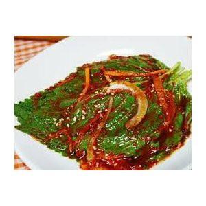 エゴマの葉 キムチ 500g / 韓国キムチ / 韓国惣菜・冷蔵便