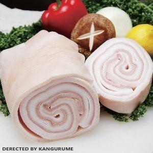 国産豚の皮(食用)生猪皮 コラーゲンたっぷり 美容食品 500g 冷凍食品