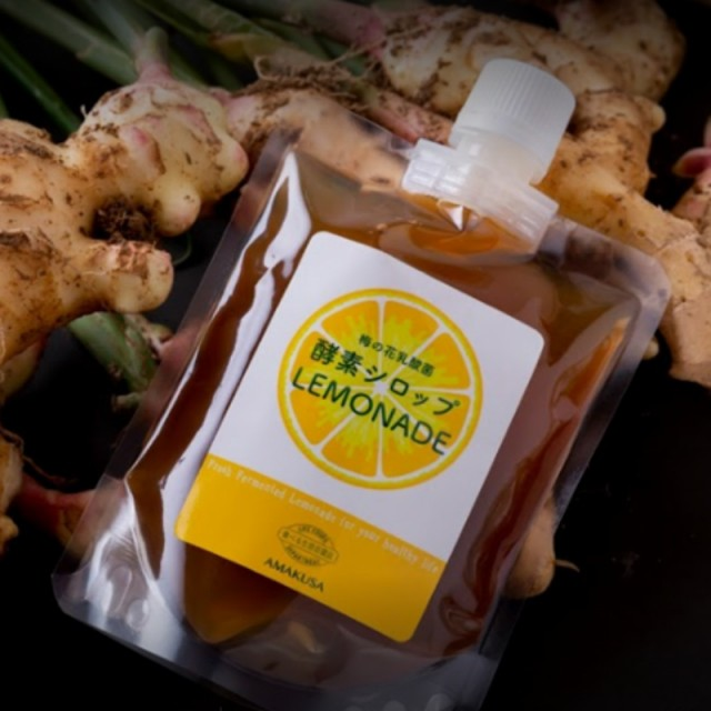 【レモネード酵素シロップ】 LIFE FOODS DEPARTMENT 食べる生活百貨店 熊本 天草 レモン シークワーサー 酵素パワー 無農薬 発酵 熟成 美