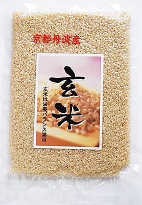 新米 京都丹波の玄米 お試しパック300g 減農薬米 令和元年産米 京丹波産 こしひかり玄米 新包装 3袋までメール便で送料無料 源流