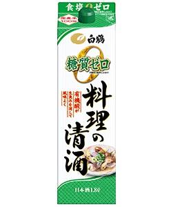 白鶴 料理の清酒 糖質ゼロ 1800ml 1.8L 1本