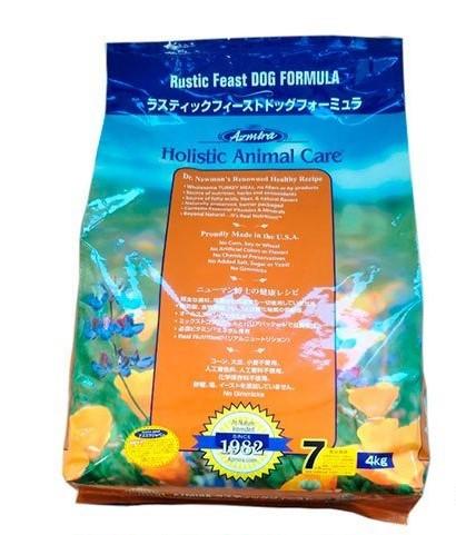 ◆送料無料◆【Azmira】アズミラ ドッグフード ラスティックフィーストドッグフォーミュラ 4kg