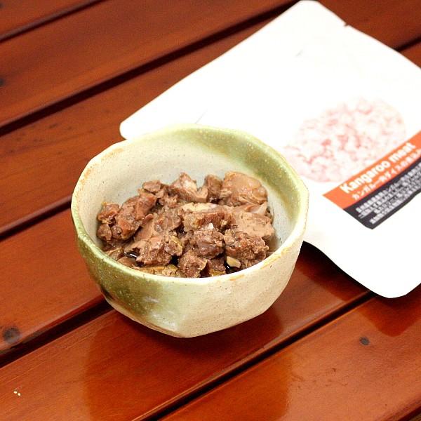 最短賞味2022.11・バセル カンガルー肉ダイス煮込み 80g 犬猫用トッピング ルーミート VACEL ナチュラルサプリミート 無添加 国産 va0021