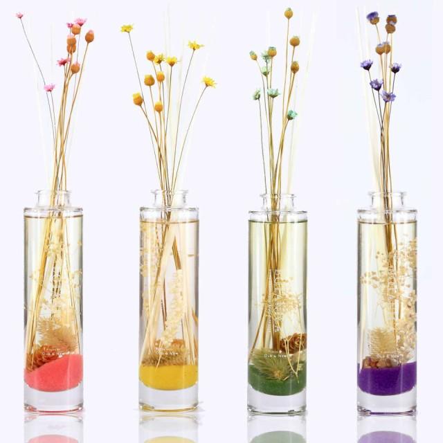 ハーバリウム(植物標本) ルームフレグランス 140ml スティック/ギフト ボタニカル ボタニカ 芳香剤 アロマ 誕生日プレゼント 女友達 母