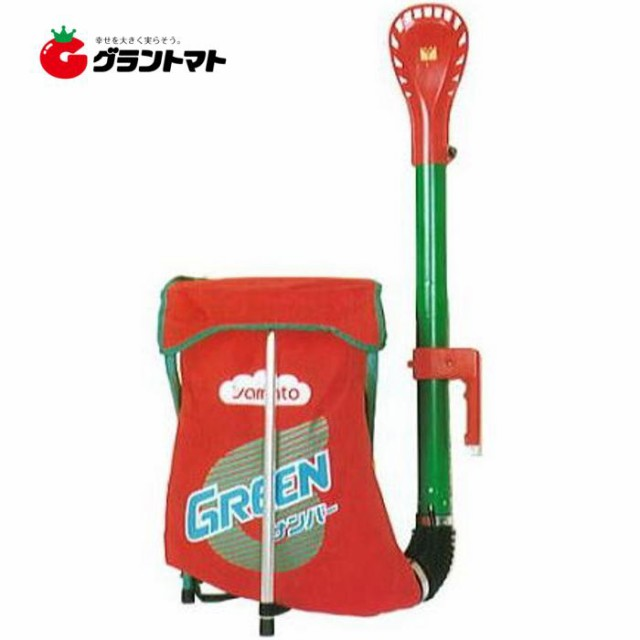 グリーンサンパーV型 背負い式肥料散布器 容量30L ヤマト農磁