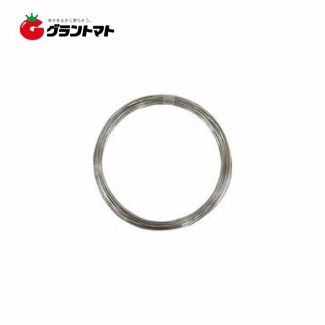 ステンレス針金 1kg巻 #14 太さ2.0mm×長さ(約)40m 松冨