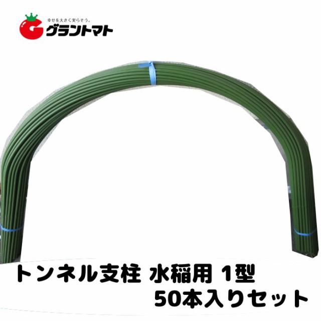 トンネル支柱 水稲用 1型 11mm×2100mm パック売り50本いり セキスイ樹脂
