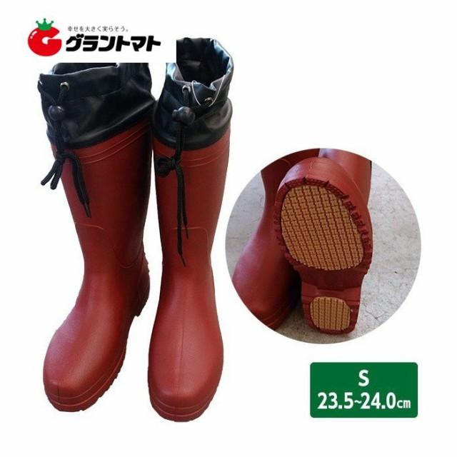 軽量長靴 S ワイン (23.5〜24.0cm) レディース