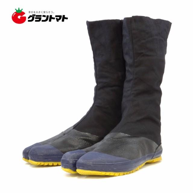 実用地下たび 27.0cm 黒生地 JH12(12枚コハゼ) 地下足袋 力王
