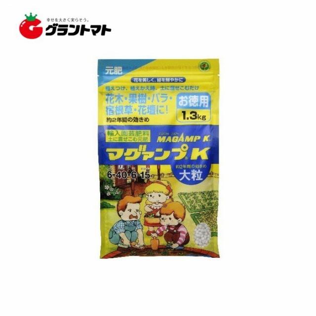 マグアンプK 大粒 1.3kg 元肥 ハイポネックスジャパン