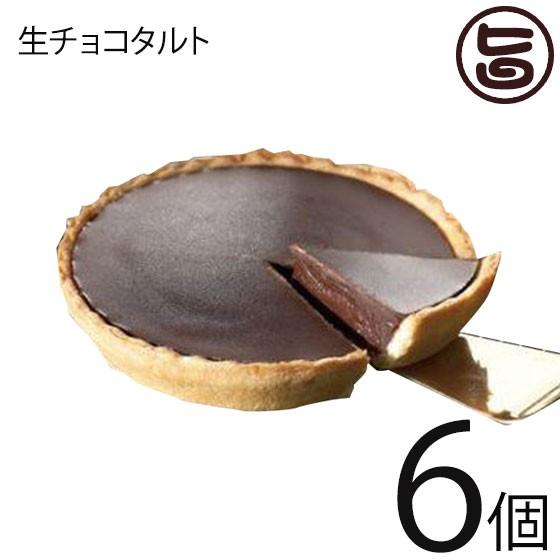 あそりんどう 生チョコタルト 直径約12cm(190g)×6個 熊本 九州 阿蘇 濃厚 ケーキ 人気 復興支援 送料無料