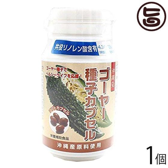 沖縄農興 ゴーヤー種子カプセル 450?r×160粒×1個 容器入り 沖縄 土産 人気 健康食品 共役リノレン酸 たっぷり 送料無料