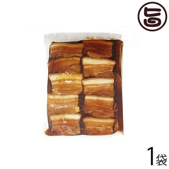 サン食品 味付三枚肉 約50枚入り 1kg×1袋 沖縄 土産 人気 豚肉 調理済み 豚バラ肉 沖縄そばのトッピング 琉球料理に 送料無料