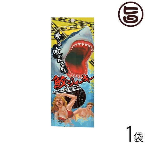 鮫ジャーキー 18g×1袋 沖縄 人気 珍しい 土産 おつまみ ちんみ 1000円ポッキリ 送料無料
