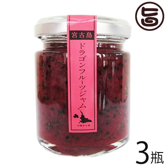 食楽Zu ドラゴンフルーツジャム 110g×3瓶 沖縄 トロピカルフルーツ 南国 フルーツ 手土産 送料無料