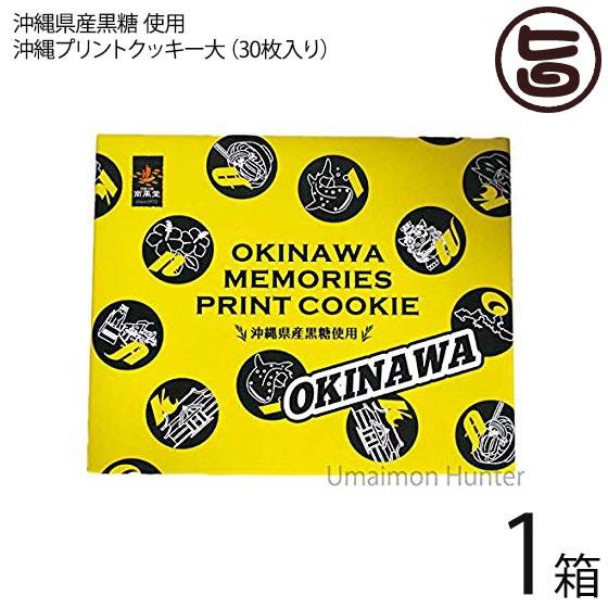 沖縄プリントクッキー大×1箱 沖縄土産 人気 お菓子 焼き菓子 クッキー お土産 条件付き送料無料