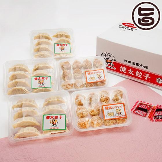 健太餃子 8個入り×3P 健太シウマイ 12個×2P 栃木 土産 冷凍 送料無料
