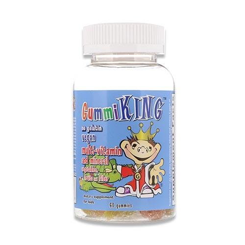 マルチビタミン&ミネラル ベジタブル フルーツ ファイバー 60粒 グミ Gummi King (グミキング)