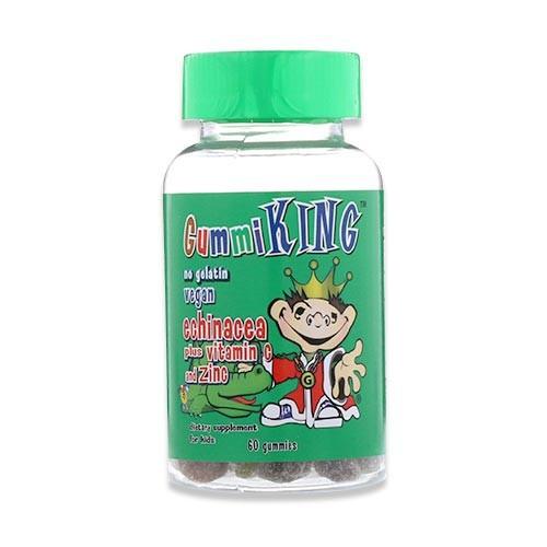 [NEW] エキナセア プラス ビタミンC 亜鉛 60粒 グミ Gummi King (グミキング)