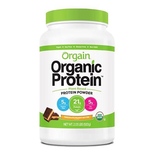 オーガニック プロテイン パウダー プラントベース チョコレートピーナッツバター 920g(2.03lbs)20回分 Orgain(オルゲイン)