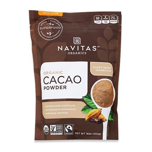 オーガニック カカオパウダー 454g(16oz)約30回分 Navitas Organics(ナビタスオーガニックス)