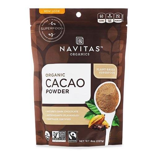 オーガニック カカオパウダー 227g(8oz)約15回分 Navitas Organics(ナビタスオーガニックス)