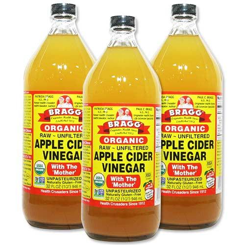 3個セット オーガニック アップルサイダービネガー (リンゴ酢) 946ml