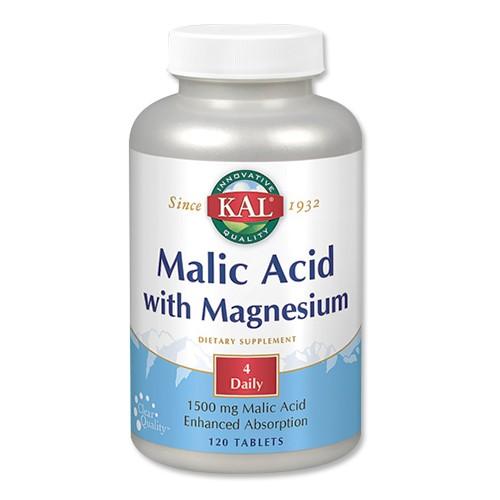 リンゴ酸 マグネシウム 120粒 KAL