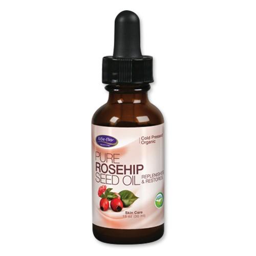 ピュア ローズヒップシードオイル オーガニック 30 ml(1オンス)ライフフローヘルス(Life Flo Health)