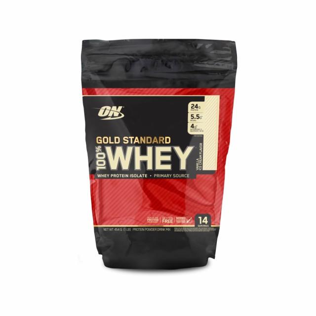 【正規品】ゴールドスタンダード 100%ホエイ プロテイン バニラアイスクリーム味454g オプティマム ニュートリション Optimum Nutrition